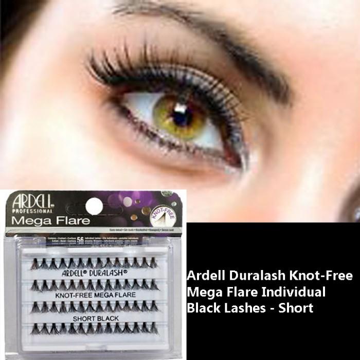 8101a148966 Jual Ardell Duralash Knot-Free Mega Flare Individual Black Lashes ...
