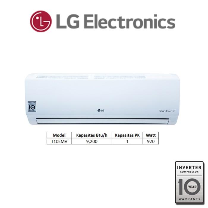 AC LG Wallmounted 1 PK Standard Inverter - T10EMV
