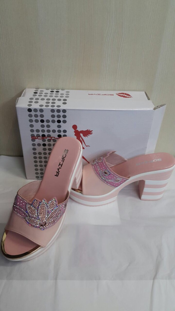 Jual Sandal Sofiya  Sandal Wanita  Sandal Hak Tinggi  High Heels ... 8d1692ef2e