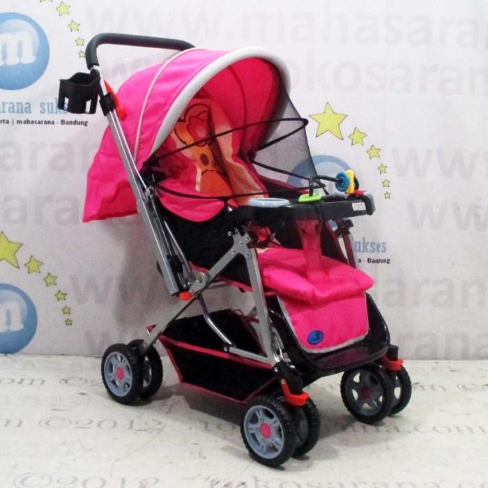 LALANG balita Stroller hujan Cover angin debu perisai dengan Windows untuk Strollers (Clear).