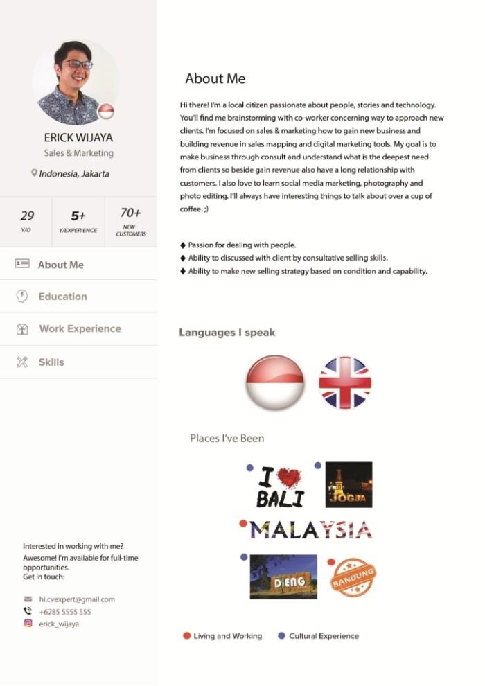 Jual Surat Lamaran Kerja Cv Template 101 Lamaran Pekerjaan Dki Jakarta Quali Tas Tokopedia
