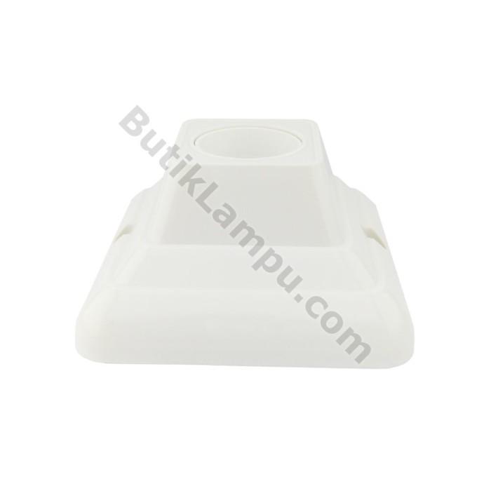 Foto Produk Fitting Plafon Kotak Panasonic NLP52202 Fitting Lampu Plapon Putih dari butiklampu
