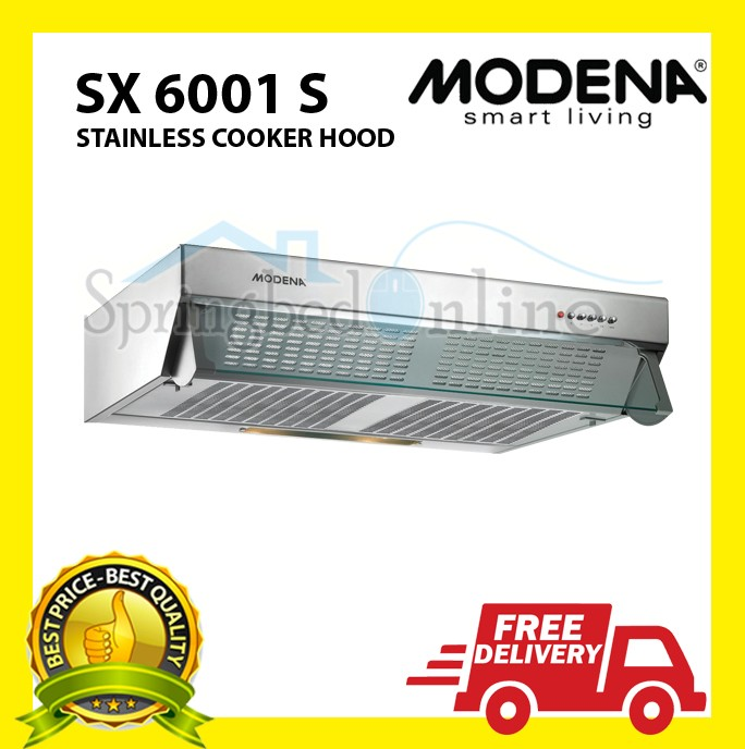 harga Exhaust cooker hood modena sx 6001 s - harga pabrik Tokopedia.com