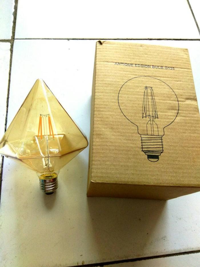 Lampu led filament/antik/retro/classic/edison bulb g125 4 watt