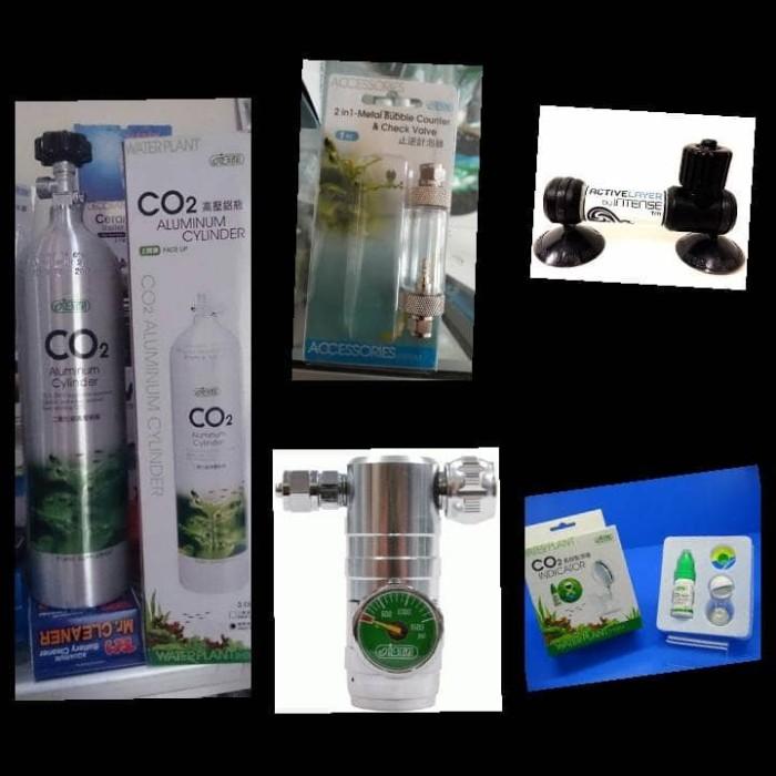 harga Aquascape - paket tabung 3l precise bazooka 50mm + co2 indikator Tokopedia.com