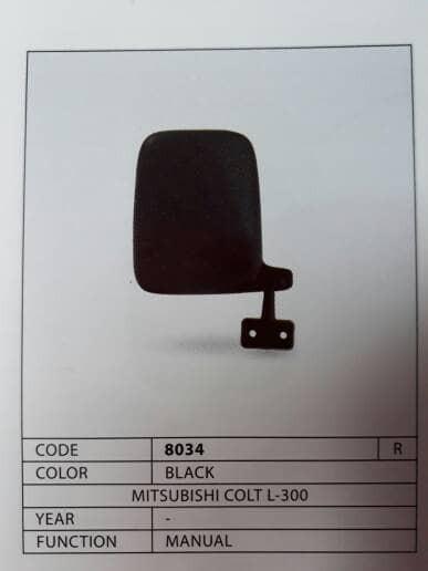 harga Kaca spion luar l300/mitsubishi colt pickup/auto mirror .sebelah kanan Tokopedia.com