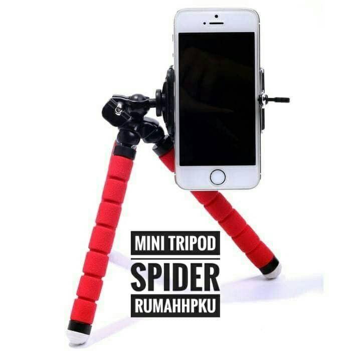 harga Spider mini tripod holder u flexible Tokopedia.com