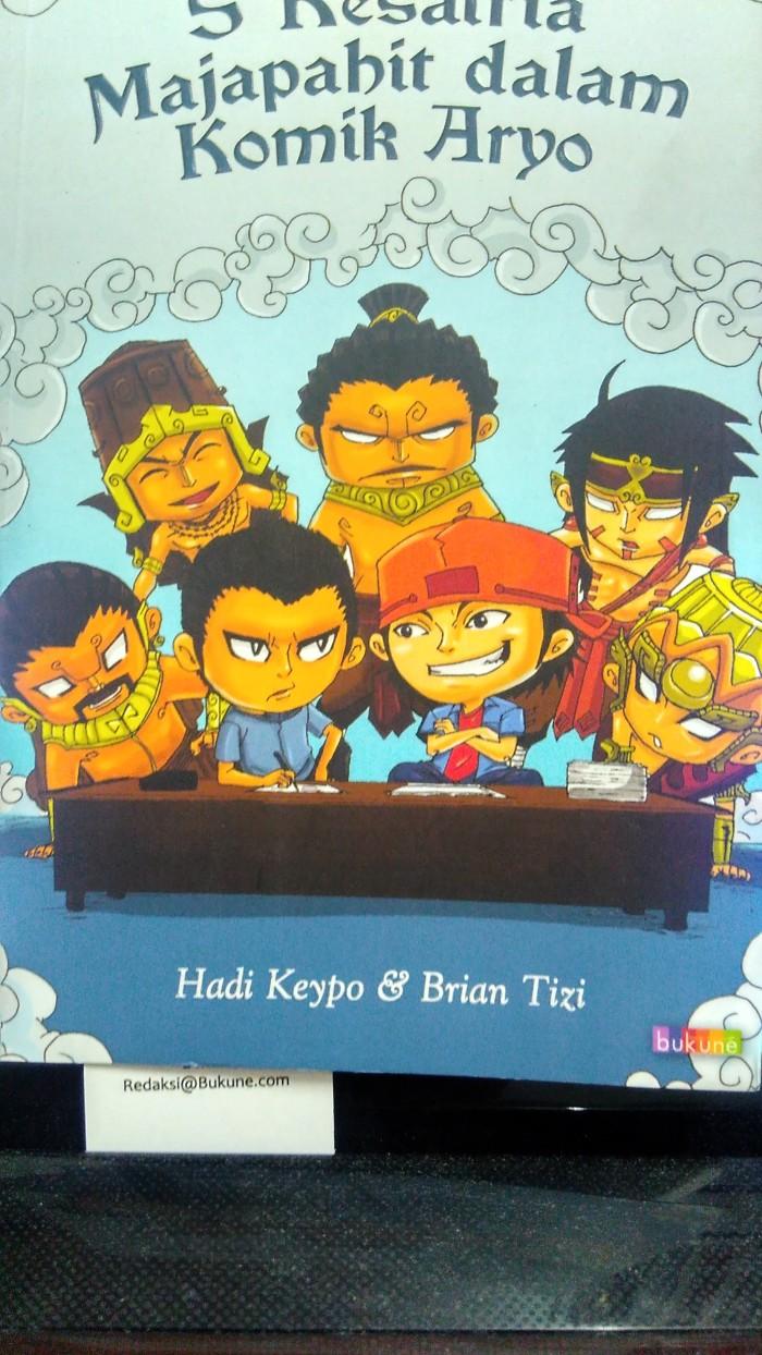 Jual Komik 5 Kesatria Majapahit Dalam Komik Aryo Oleh Hadi Keypo Dan Brian Jakarta Barat Tahta Konsultan