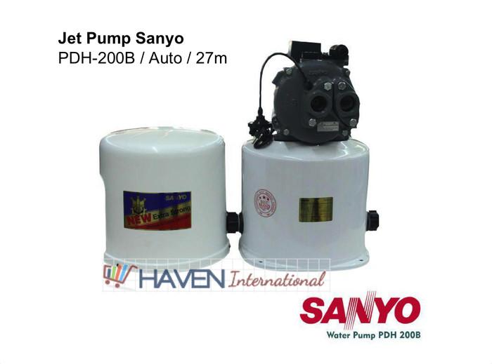 harga [murah] pompa air jet pump sanyo pdh 200b / auto / 27m Tokopedia.com