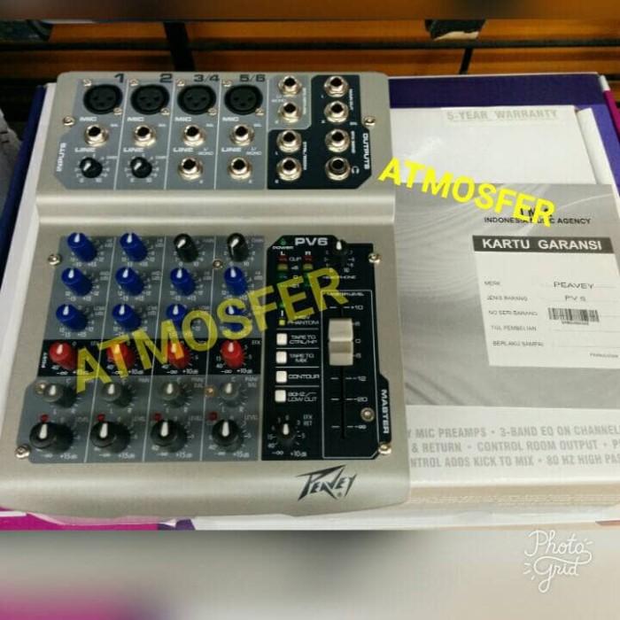 harga Mixer peavey pv-6 original resmi Tokopedia.com