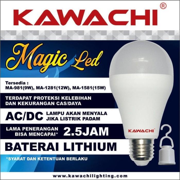 LAMPU MAGIC LED KAWACHI MA-1281-12 WATT - LAMPU AJAIB