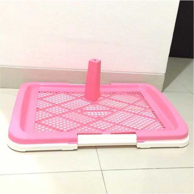 harga Pet toilet pee tray dog anjing kucing jantan size l Tokopedia.com