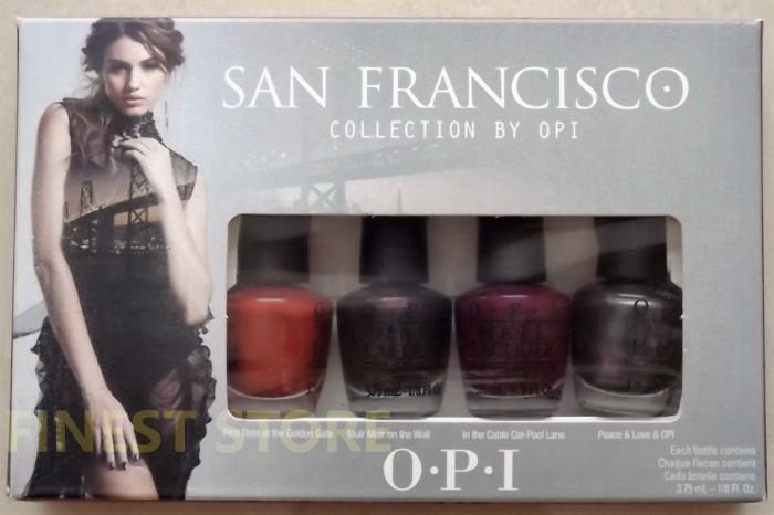 harga Opi mini nail polish san francisco 4pcs Tokopedia.com