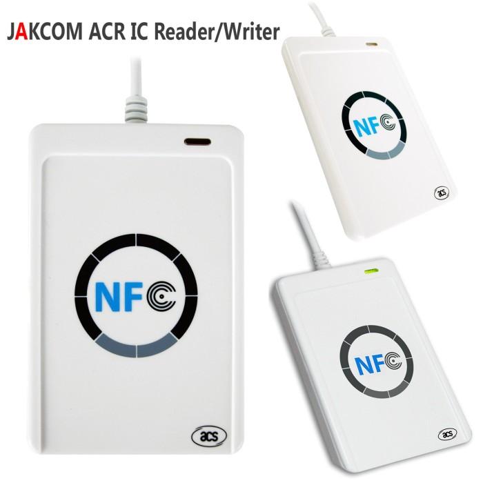 harga Jakcom acr ic reader & writer usb smartcard rfid nfc acr 122u acr122u Tokopedia.com