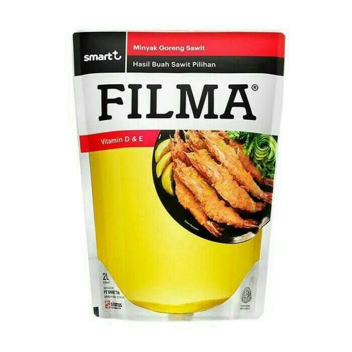 harga Filma minyak goreng / sayur pouch 2l cooking oil Tokopedia.com