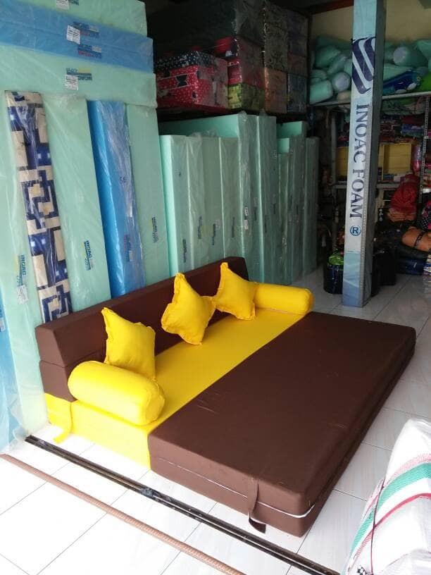 harga Sofa bed inoac (eon d23) uk 200x180x20 cm Tokopedia.com