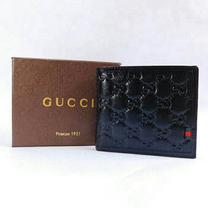 204e14a64f40ec Dompet pria   dompet gucci   dompet branded   original 100% asli kulit