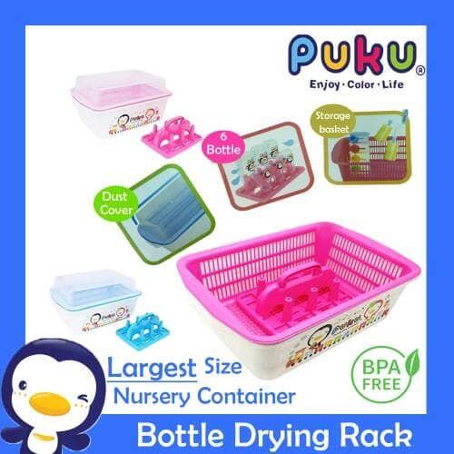 ... Rack Flundra putih Source · harga Puku nursery container rak botol rak pengering botol Tokopedia com
