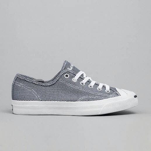 harga Converse jack purcell women woven textile low top ox navy/white/navy Tokopedia.com