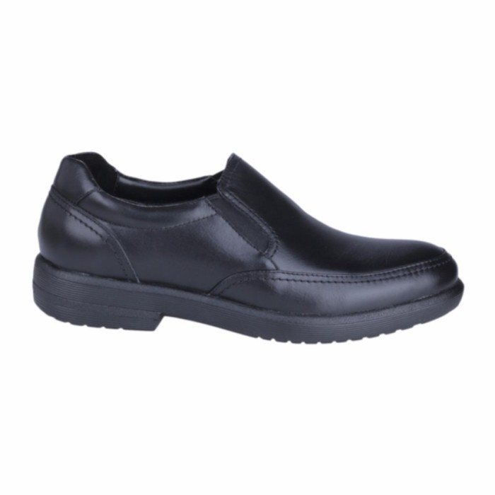 Sale Hush Puppies Sepatu Slip On Pria Reign Slip On - Black