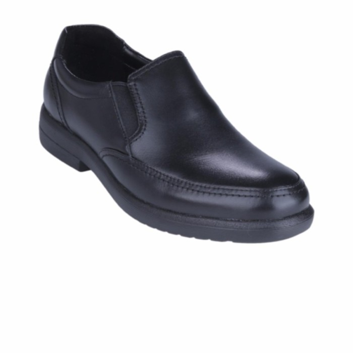 Sale Hush Puppies Sepatu Slip On Pria Reign Slip On - Black