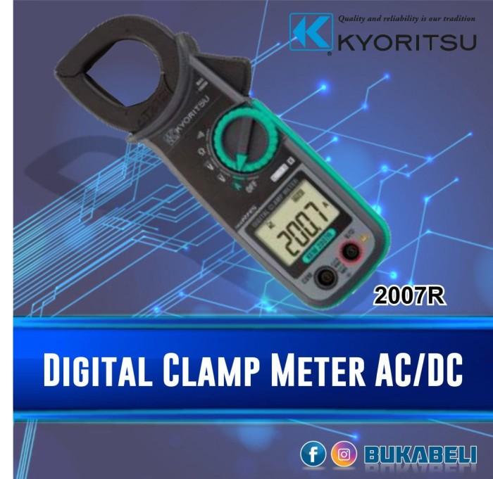 harga Kyoritsu Tang Ampere 2007r - 2007 R - 2007a - 2007 A Clamp Meter Tokopedia.com