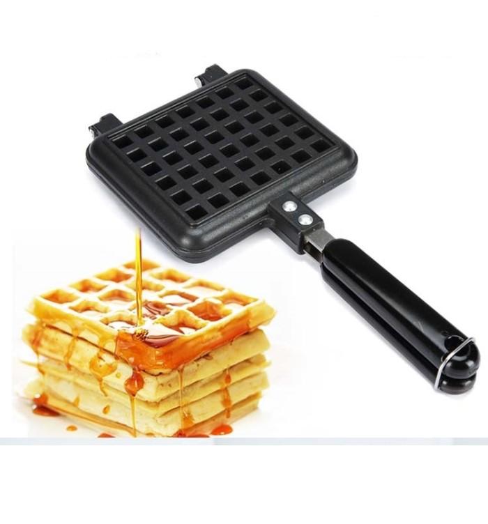 harga Manual waffle maker / waffle pan / cetakan waffle belgia / cake maker Tokopedia.com