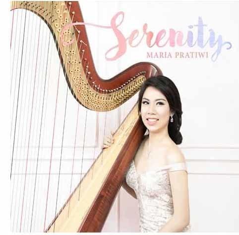 harga Cd original serenity - instrumentalia harpa - lagu rohani kristiani Tokopedia.com