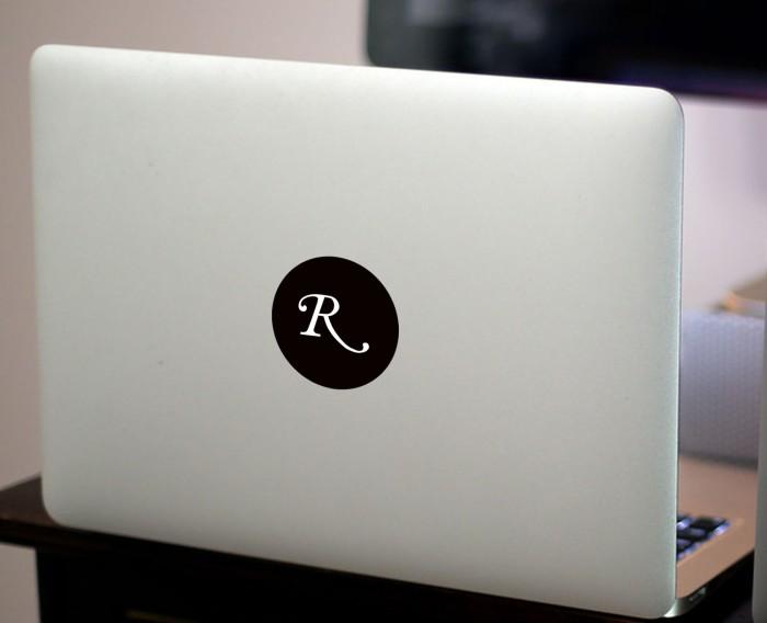 harga Decal macbook sticker kaligrafi inisial custom Tokopedia.com