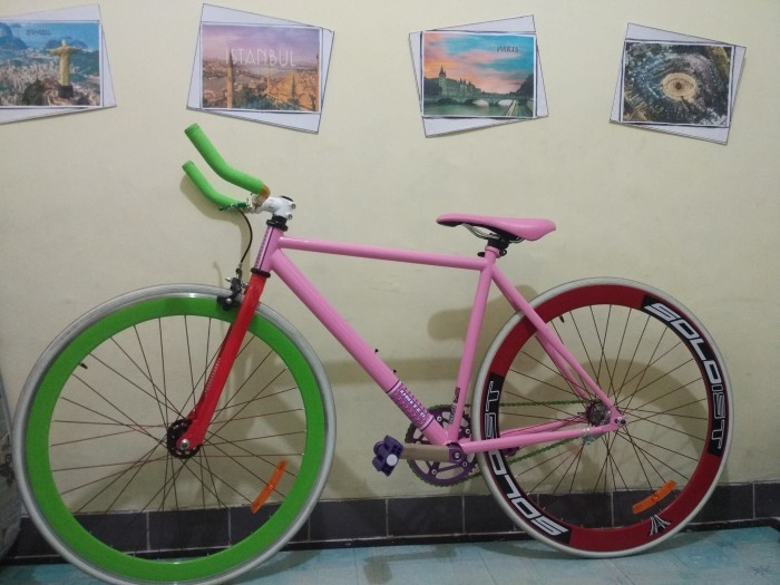 Foto Produk Sepeda fixie soloist United dari Bolo Hanoman