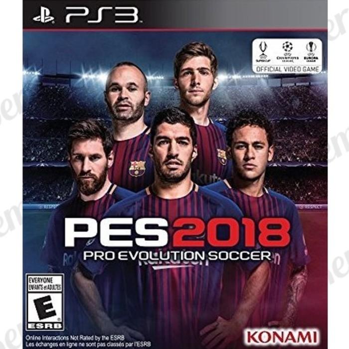Jual PES 18 PS3 CFW Rogero + UPDATE Pro Evolution Soccer 2018 - Jakarta  Pusat - Remembermev | Tokopedia