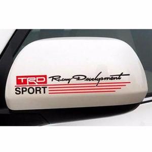 Stiker Spion Mobil TRD Sport Racing Warna Hitam