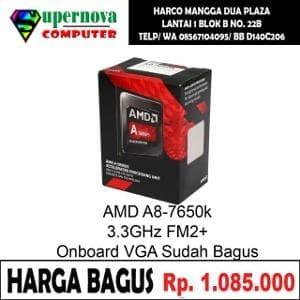 Foto Produk Processor AMD A8-7600 3.10 GHz Socket FM2 Plus TRAY dari Supernova Computer Ariet