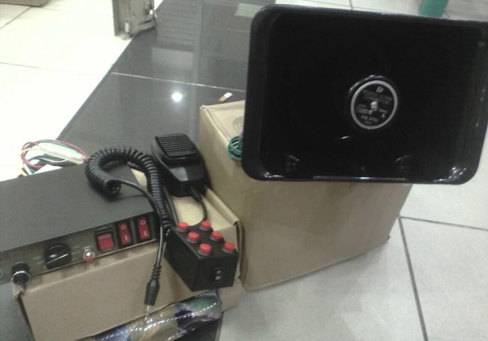 harga Sirine patwal polisi toa 200 watt plus jumper Tokopedia.com
