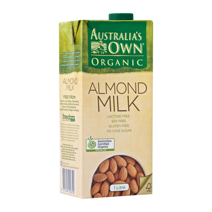 harga Australia's Own Organic Almond Milk | Susu Almond Organik | Organic Almond Milk Blanja.com