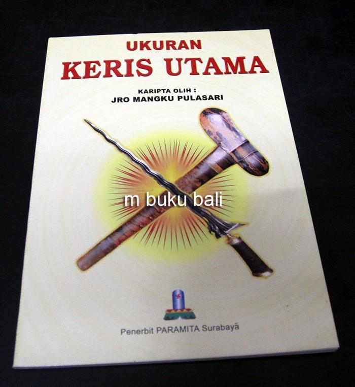 harga Ukuran keris utama - buku bali hindu Tokopedia.com