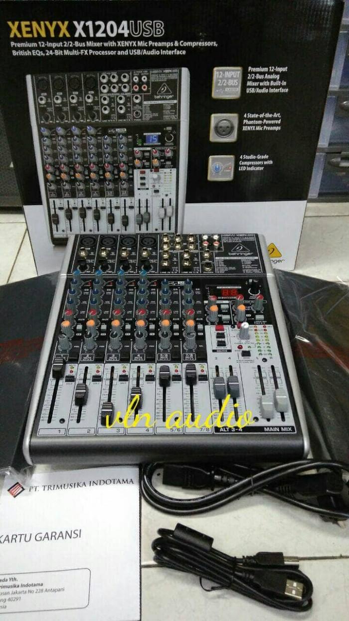 harga Mixer behringer xenyx x1204 usb (original). Tokopedia.com