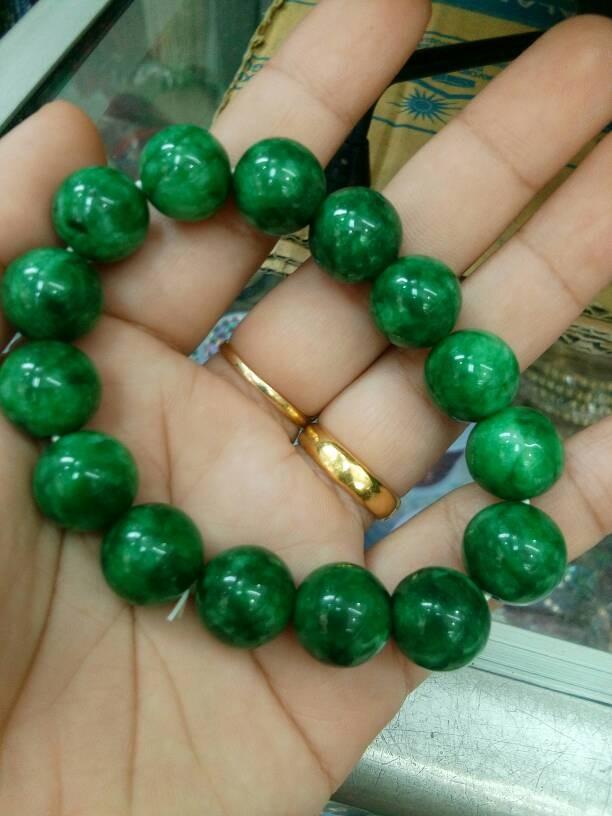 Paket Kalung dan Gelang Black Jade Motif Garis 8mm asli Batu Alam. Deskripsi. A