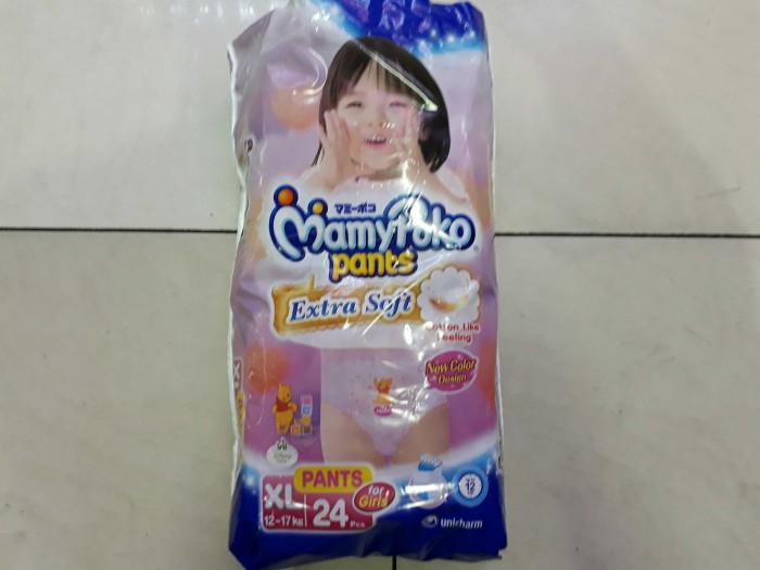 harga Mamy poko pants xl24 girl Tokopedia.com