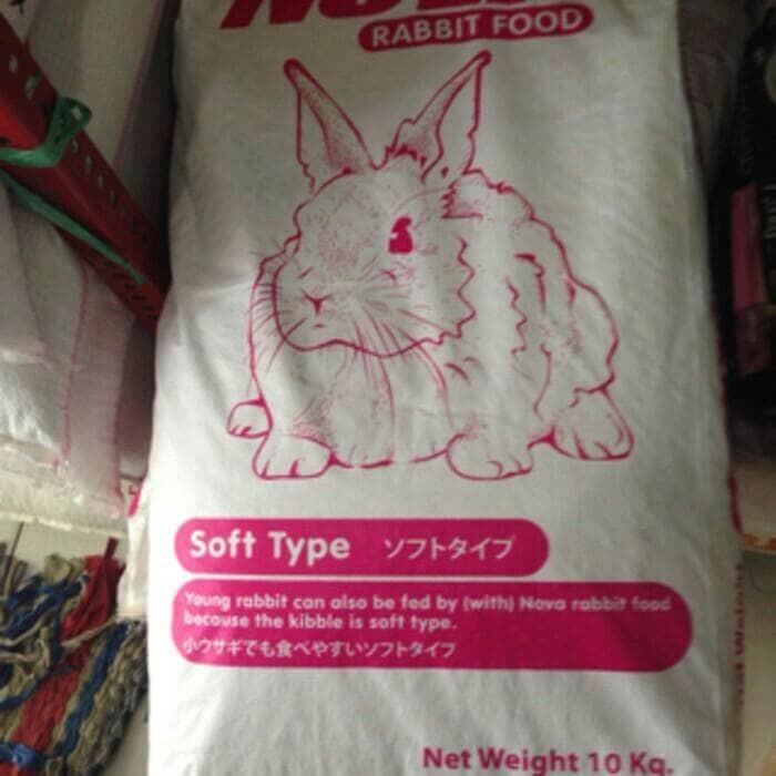 harga Makanan kelinci rabbit food nova Tokopedia.com