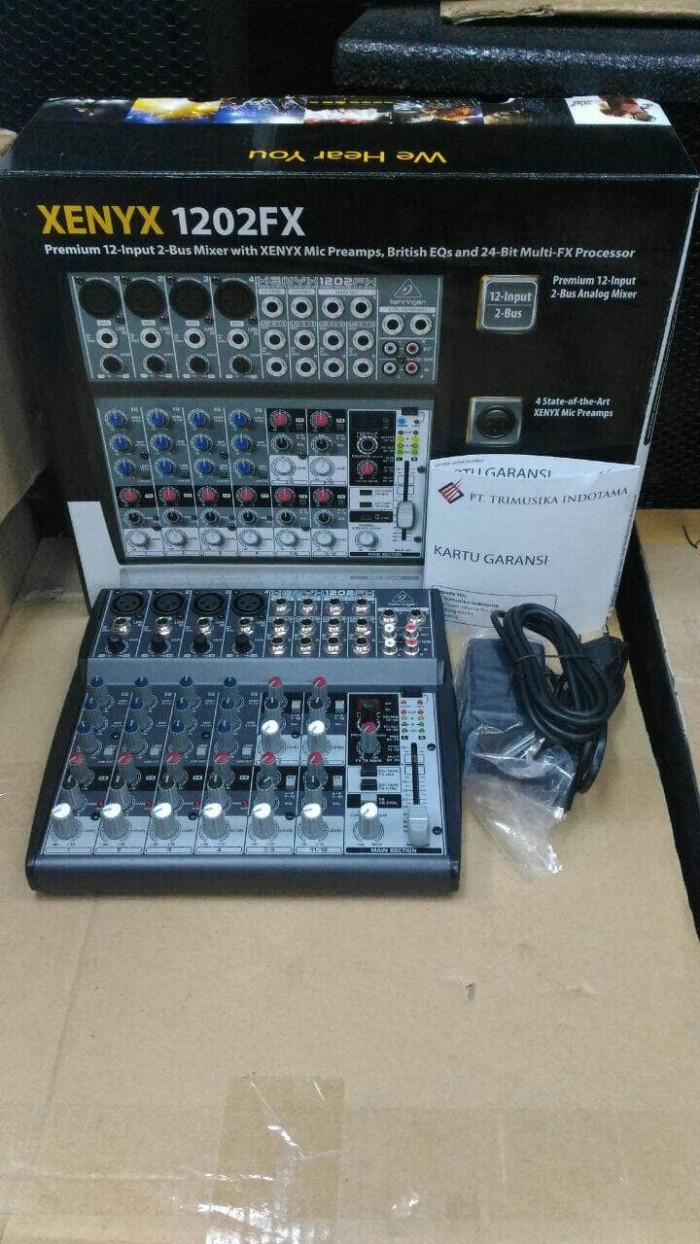 harga Audio mixer behringer xenyx 1202fx Tokopedia.com