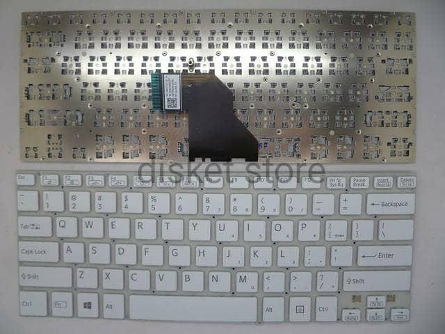 harga Keyboard sony vaio svf14 svf 14 putih Tokopedia.com