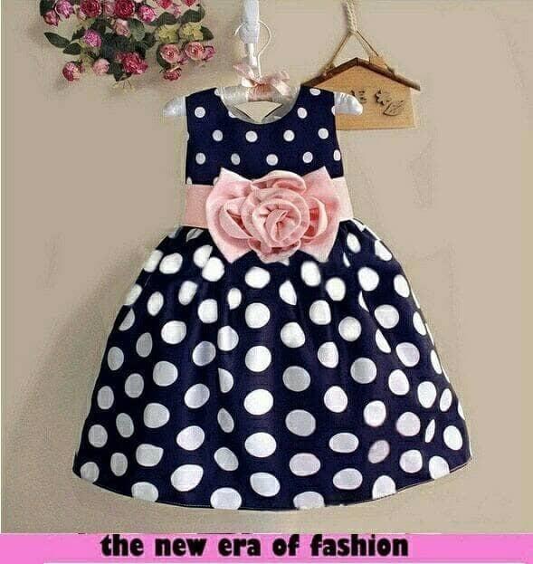 ... Hanyu Gaun Anak Perempuan Bintik Biru Internasional Daftar Update Source Dress polka kids dress pesta