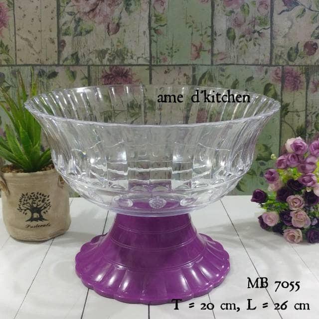 Mangkok buah MB 7055 ungu golden sunkist