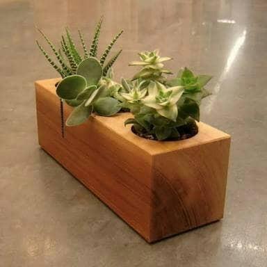 harga Pot bunga / pot kayu / pot mini / vas bunga / vas kayu Tokopedia.com