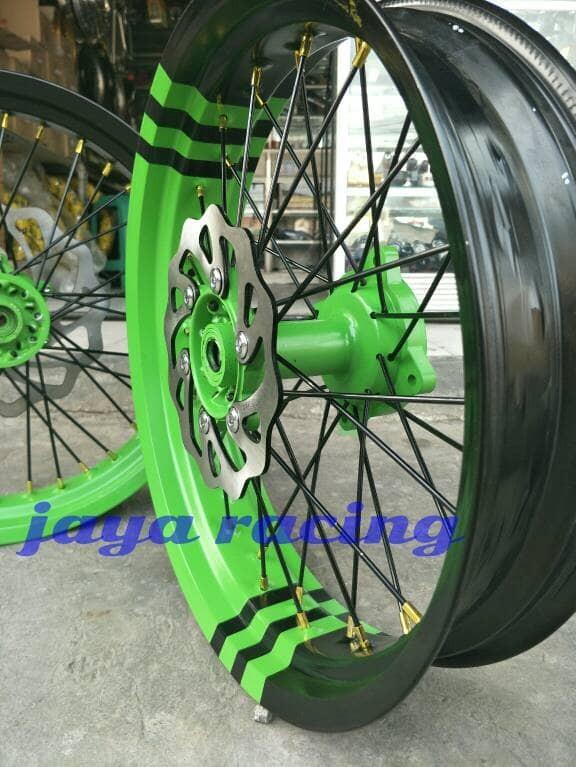 harga Sepaket velg ring 17 supermoto klx 150 dtracker 150 bisa reguest warna Tokopedia.com