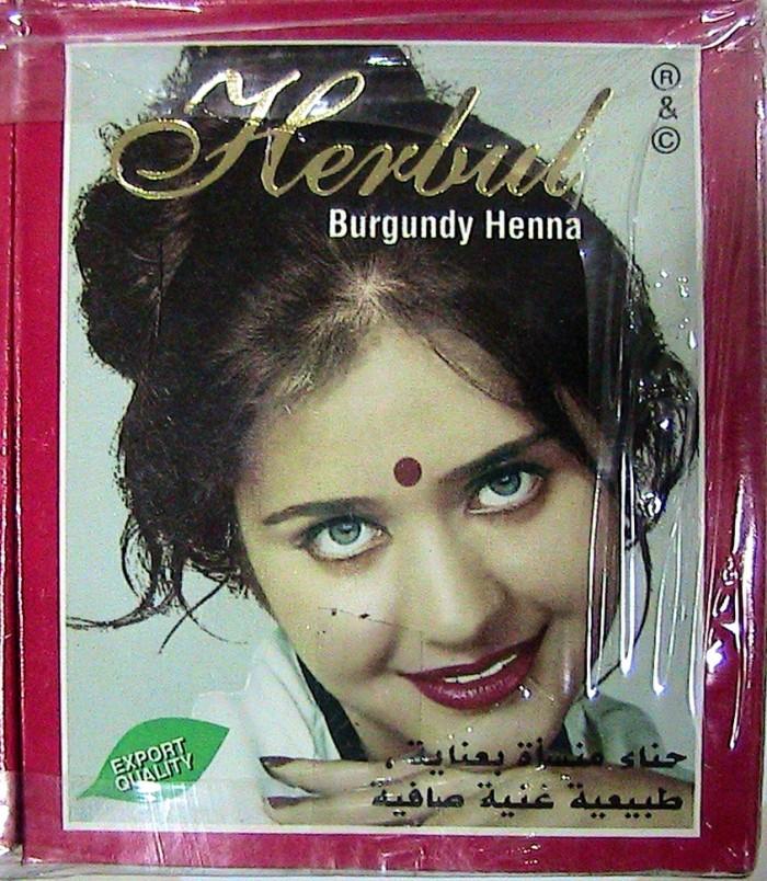 Jual Herbal Henna Burgundy Pewarna Rambut Asba7 Toko Tokopedia