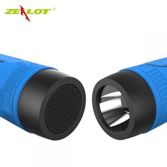 harga Speaker bluetooth dengan radio waterproof senter powerbank - zealot Tokopedia.com