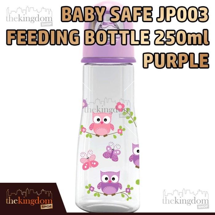harga Babysafe jp 003 botol susu anak bayi 250ml ungu burung bird Tokopedia.com