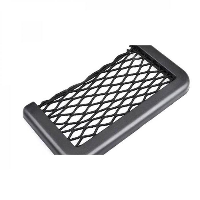 Foto Produk Kantong Jaring-Jaring Aksesoris Mobil / Net Case Pocket Car Bag HP dari Rella Acc
